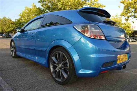 vauxhall astra vxr in stunning blue service history 1