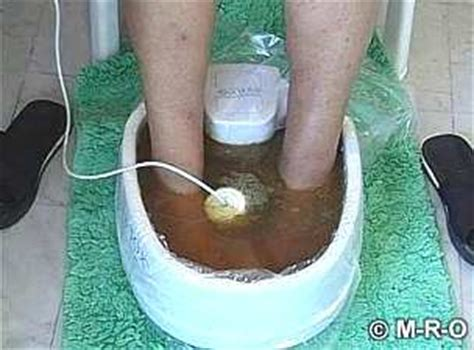 Lyme Disease Foot Detox detox foot bath for lyme and morgellons