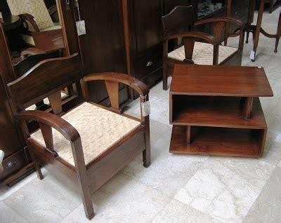 Kursi Rotan Kuno toko barang antik dijual sepasang kursi bemo kuno sold sudah terjual