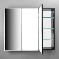 Buy robern plm3630b pl series 36 quot flat dual mount triple door medicine