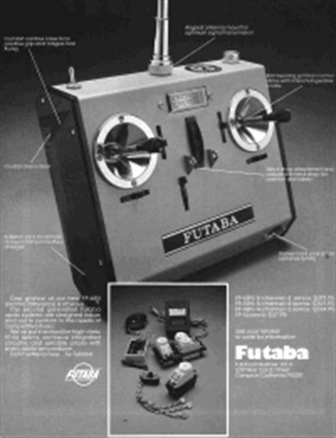 Vintage Radio Control Systems - RF Cafe