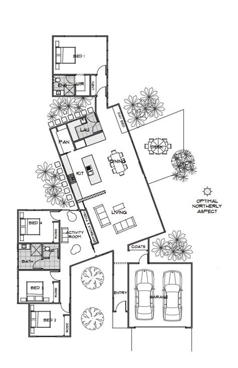 efficient floor plans this layout is too cool bond house plan energy