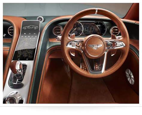 bentley exp10 speed 6 interior bentley exp 10 speed 6 concept askmen