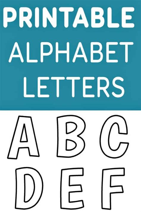 Free Printable Alphabet Templates And Other Printable Letters Letter Template Free
