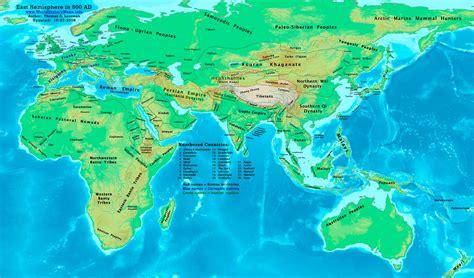 world map 500 ad eastern hemisphere