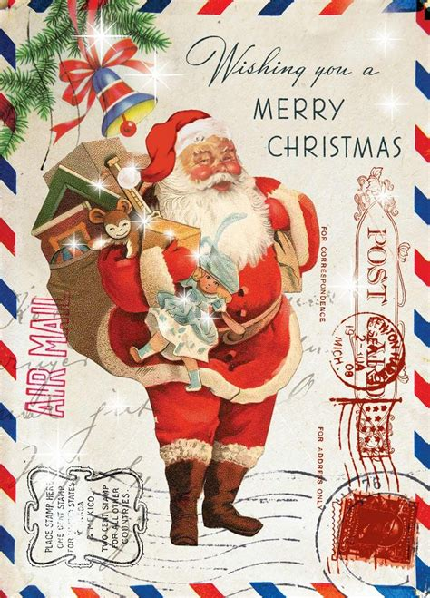 printable christmas cards vintage 1000 images about christmas vintage cards toppers on