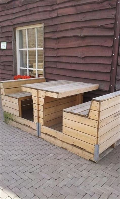 Made Of Pallets by Outdoor Made From Pallets Pallets Designs