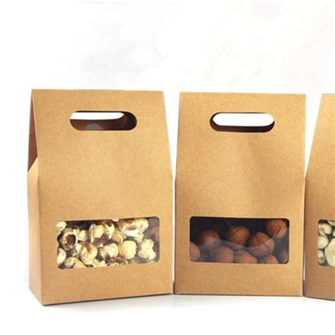 Shoo Clear Sachet 10 5 15 6cm kraft paper tote bag gift packing box with