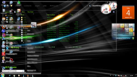 wallpaper laptop gaul cara memasang tema full glass windows 7 faishal p