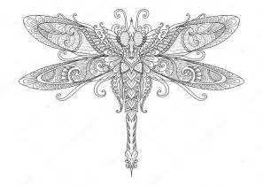 doodles utformningen av dragonfly 246 tatuering designelement shirt grafik och vuxen bok