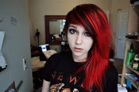 hairstyles red and black hair hair color black and red 17 high resolution wallpaper