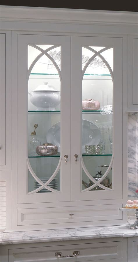I'd really like wavy glass upper cabinet doors with glass