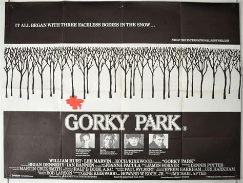 Gorky Park 1983 Film Gorky Park 1983 Quad Movie Poster William Hurt Lee Marvin Brian Dennehy Ebay