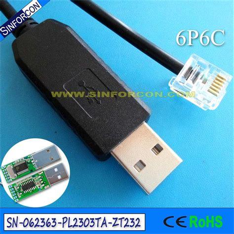 Kabel Konverter Usb Pl2303ta To Rs232 Black rj9 om usb adapter pl2303ta usb rs232 adapter kabel met rj45 rj11 rj12 rj9 rj25 product id