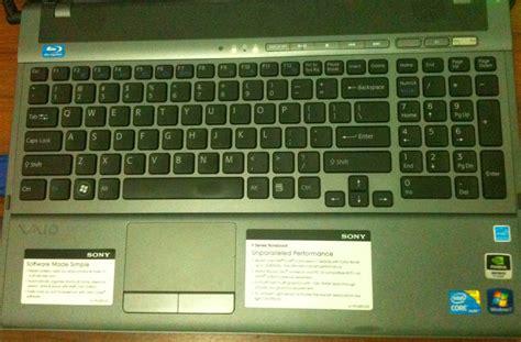 Keyboard Numerik Untuk Laptop aespe s words 6 bulan penggunaan vaio vpc f115fm