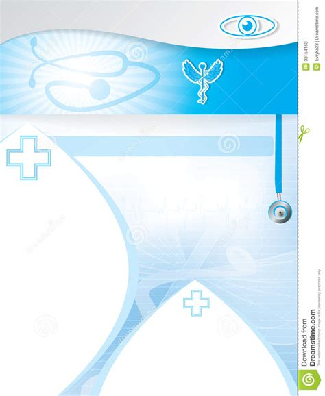 abstract medical design template royalty free stock photos