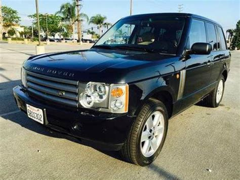 2003 land rover range rover for sale carsforsale