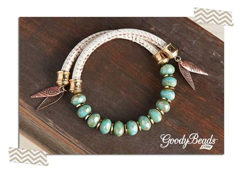 how to end a beaded bracelet memory wire leather wrap bracelets goodybeads
