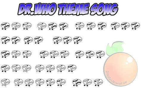 theme songs by the who doctor who theme 12 hole ocarina tabs pinterest the