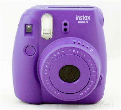 Fujifilm Instax Mini 8 Purple 2015 fashion fujifilm instax mini 8 grape purple
