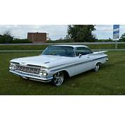 Chevrolet Impala 1959 2d Hard Top White