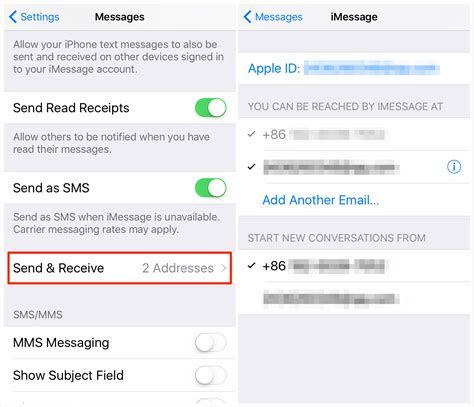 format email on iphone how to sync imessages between iphone ipad and mac