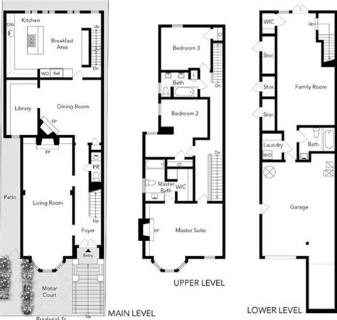 san francisco floor plans the quot full house quot victorian for sale in san francisco