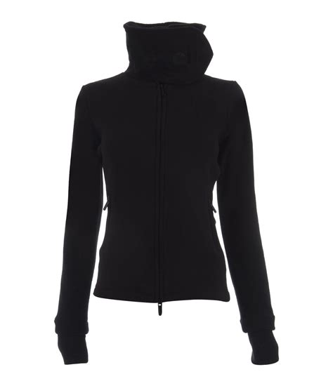 bench funnel neck bench funnel neck e fleece in black lyst