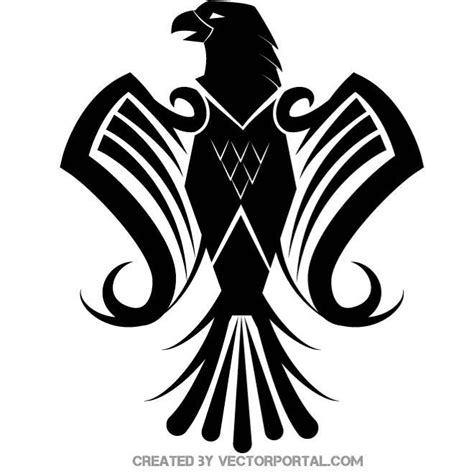heraldic eagle vector image download at vectorportal