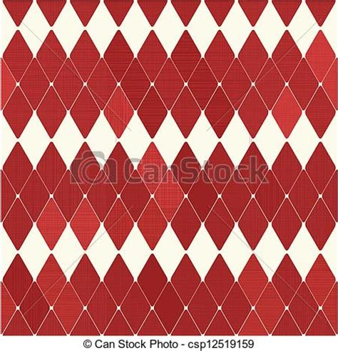 drawing harlequin pattern clipart vector of seamless retro harlequin pattern