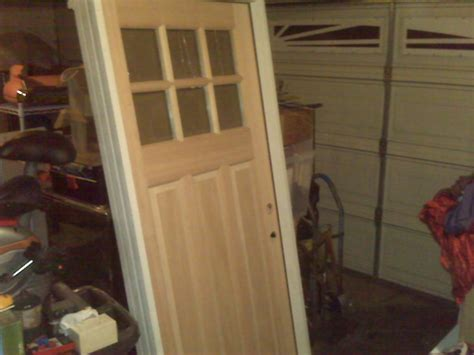 Used Exterior Door Wood What Primer And Paint Should I Used For A Solid