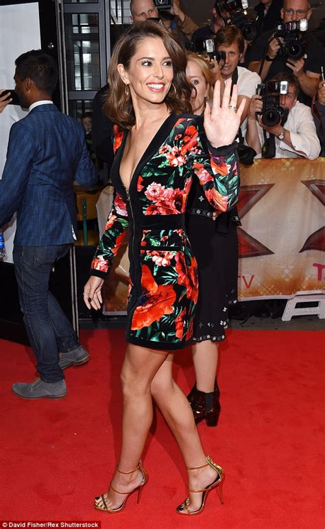 X Factor On The Carpet At I Am Legend Premiere by X Factor S Cheryl Fernandez Versini Displays
