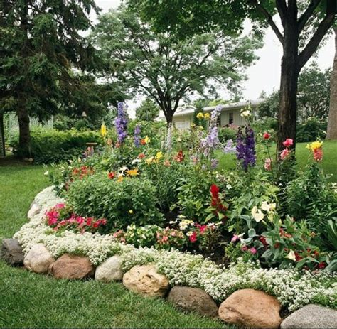 rock flower beds flower beds rock design lawn landscaping services