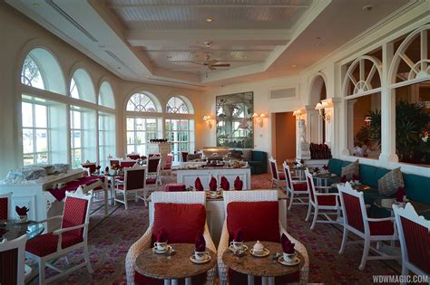 Grand Tea Room by Grand Floridian S Garden View Tea Room Closing For