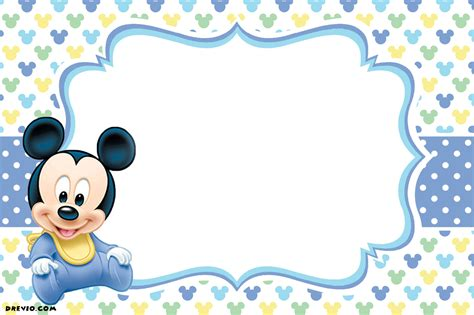 design inexpensive mickey mouse clubhouse birthday invitation