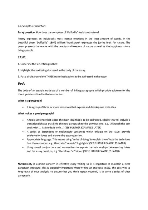 examples of academic essay sample thesis statement examples in word