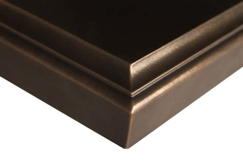 Bronze Countertop by Anvil Exodus Rubbed Bronze Countertops By Grothouse
