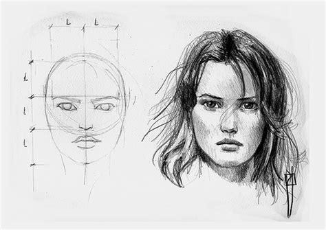 imagenes para dibujar rostros procesos de dibujo female face proportions proporciones