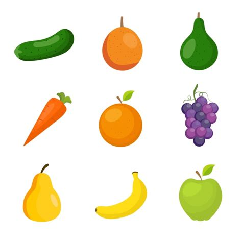 imagenes gratis de frutas y verduras colecci 243 n de frutas y verduras descargar vectores gratis
