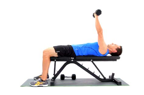 bench press for arms one arm dumbbell bench presses livestrong com