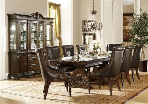formal dining room set von furniture le havre formal dining room set