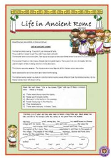 ancient rome worksheets worksheet in ancient rome