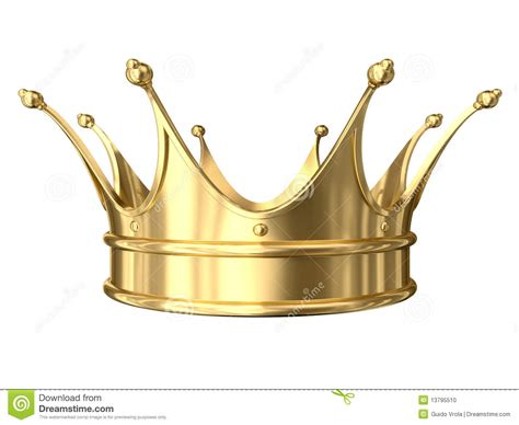 Queen Armchair Gold Crown Stock Photo Image 13795510