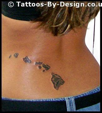 hawaiian island tattoo designs hawaiian islands tattoos