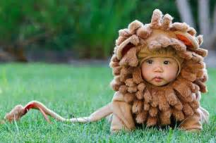 baby boy lion halloween costume the bloomin couch the cutest baby costumes you ve ever seen