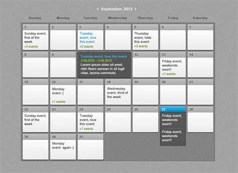 web design event calendar 40 beautiful free calendar psd designs
