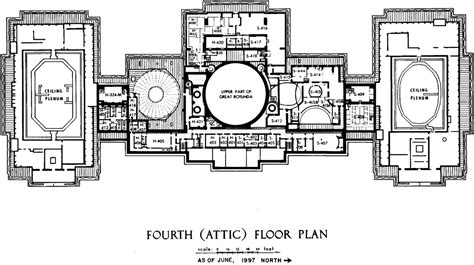 floor plan of the us capitol building file us capitol fourth floor plan 1997 105th congress gif