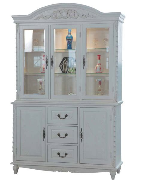 oak amish hutch buffet china mission style cabinet appealing solid wood china cabinet