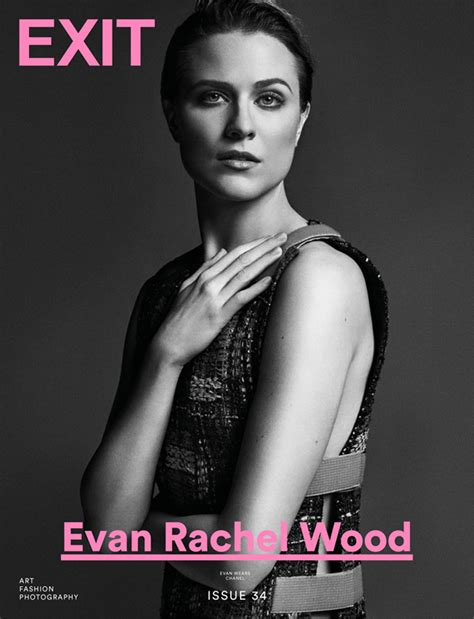 evan rachel wood exit in westworld star evan rachel wood is the cover girl of exit