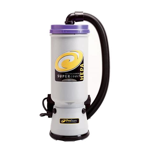 Hepa Vacuum Cleaner Proteam 107104 10 Qt Coachvac Hepa Backpack Vacuum